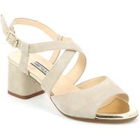 Zapatos Mujer Sandalias Grunland SA1426 Beige
