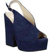 Zapatos Mujer Sandalias Grace Shoes ALBA 107 Azul