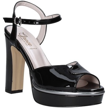Zapatos Mujer Sandalias Grace Shoes 5753003 Negro