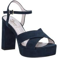 Zapatos Mujer Sandalias Grace Shoes 492PL003 Azul