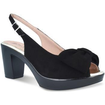 Zapatos Mujer Sandalias Pitillos 2901 Negro