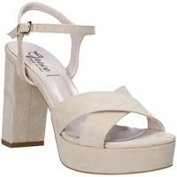 Zapatos Mujer Sandalias Grace Shoes 492PL003 Beige