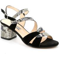 Zapatos Mujer Sandalias Grunland SA2515 Negro