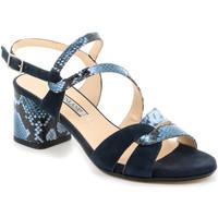Zapatos Mujer Sandalias Grunland SA2515 Azul