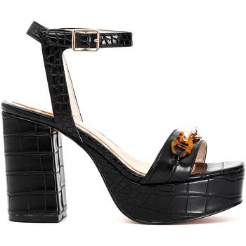 Zapatos Mujer Sandalias Café Noir MA924 Negro