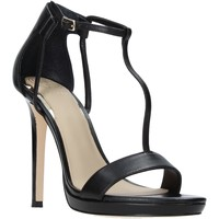 Zapatos Mujer Sandalias Guess FL6TEU LEA03 Negro