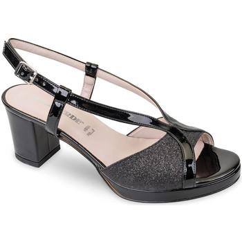 Zapatos Mujer Sandalias Valleverde 45373 Negro