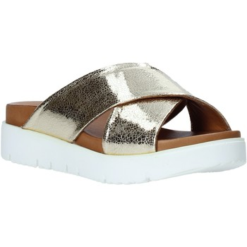 Zapatos Mujer Zuecos (Mules) Bueno Shoes 9N3408 Oro
