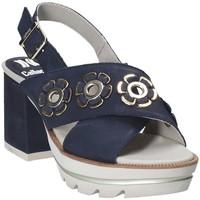 Zapatos Mujer Sandalias CallagHan 22600 Azul