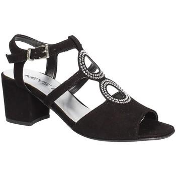 Zapatos Mujer Sandalias Keys 5713 Negro