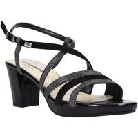 Zapatos Mujer Sandalias Valleverde 38535 Negro