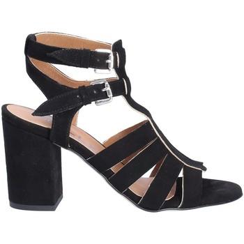 Zapatos Mujer Sandalias Mally 6272 Negro