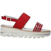 Zapatos Mujer Sandalias Mally 6532P Negro