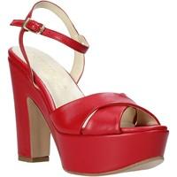 Zapatos Mujer Sandalias Esther Collezioni T260 CRIS Rojo