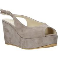 Zapatos Mujer Sandalias Esther Collezioni ZC 042 Gris