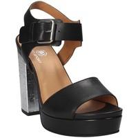 Zapatos Mujer Sandalias Janet Sport 41907 Negro