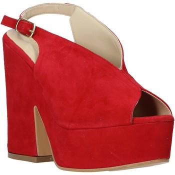 Zapatos Mujer Sandalias Esther Collezioni ALBA 107 Rojo