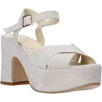 Zapatos Mujer Sandalias Esther Collezioni RM133 Gris