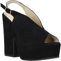 Zapatos Mujer Sandalias Esther Collezioni ALBA 107 Negro