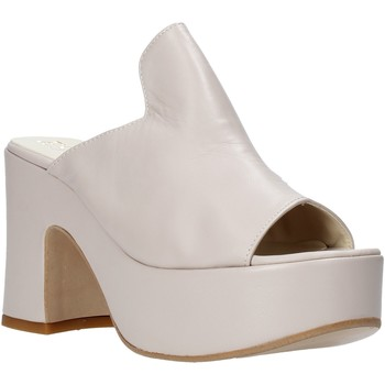 Zapatos Mujer Zuecos (Mules) Esther Collezioni RM 20S Beige