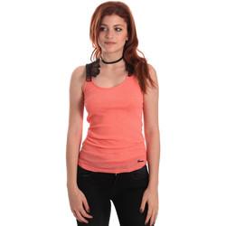 textil Mujer Camisetas sin mangas Fornarina BE175J75H26368 Naranja