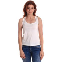 textil Mujer Camisetas sin mangas Fornarina SE175L04JG0709 Blanco