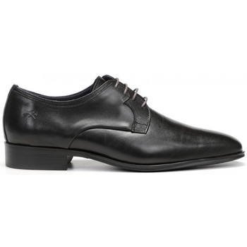 Zapatos Hombre Derbie Fluchos Cesar 9668 Negro Noir