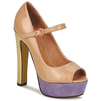 Zapatos Mujer Zapatos de tacón Ravel LOTTIE Nude
