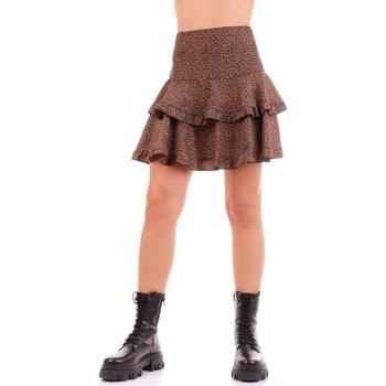 textil Mujer Faldas Vicolo TW0723 marrón