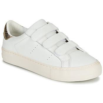Zapatos Mujer Zapatillas bajas No Name ARCADE STRAPS Blanco / Beige