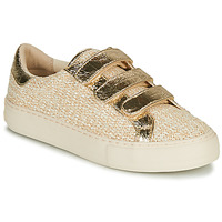 Zapatos Mujer Zapatillas bajas No Name ARCADE STRAPS Beige / Oro