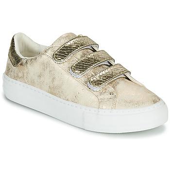 Zapatos Mujer Zapatillas bajas No Name ARCADE STRAPS Oro