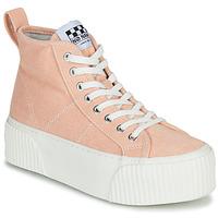 Zapatos Mujer Zapatillas altas No Name IRON MID Rosa