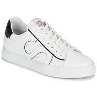 Zapatos Hombre Zapatillas bajas Schmoove SPARK MOVE Blanco / Negro