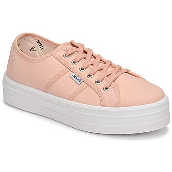 Zapatos Mujer Zapatillas bajas Victoria BARCELONA LONA Rosa