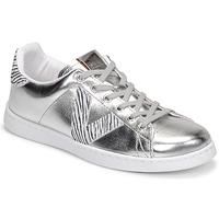 Zapatos Mujer Zapatillas bajas Victoria TENIS METALIZADO Plata