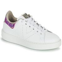 Zapatos Mujer Zapatillas bajas Victoria UTOPIA HOLOG Blanco