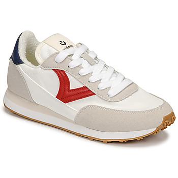 Zapatos Mujer Zapatillas bajas Victoria ASTRO NYLON Blanco / Rojo / Azul