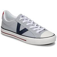 Zapatos Hombre Zapatillas bajas Victoria TRIBU LONA CONTRASTE Gris