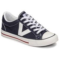 Zapatos Zapatillas bajas Victoria TRIBU LONA CONTRASTE Azul
