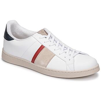 Zapatos Hombre Zapatillas bajas Victoria TENIS VEGANA DETALLE Blanco / Azul