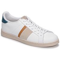 Zapatos Hombre Zapatillas bajas Victoria TENIS VEGANA DETALLE Blanco