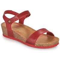 Zapatos Mujer Sandalias Panama Jack CAPRI Rojo