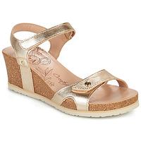 Zapatos Mujer Sandalias Panama Jack JULIA SHINE Oro