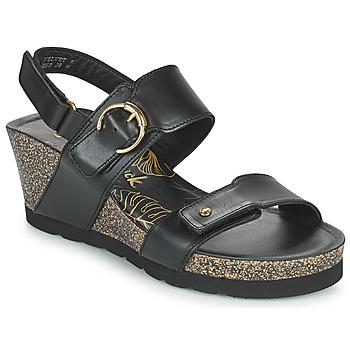 Zapatos Mujer Sandalias Panama Jack VELVET Negro