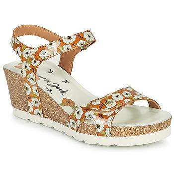 Zapatos Mujer Sandalias Panama Jack JULIA GARDEN Amarillo
