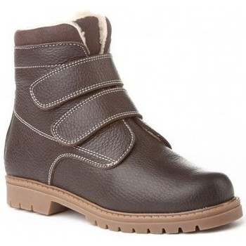 Zapatos Niño Botas de caña baja Cbp - Conbuenpie Botas Safari de piel by CBP Marron