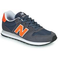 Zapatos Hombre Zapatillas bajas New Balance 500 Azul / Naranja