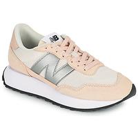Zapatos Mujer Zapatillas bajas New Balance 237 Rosa / Plata