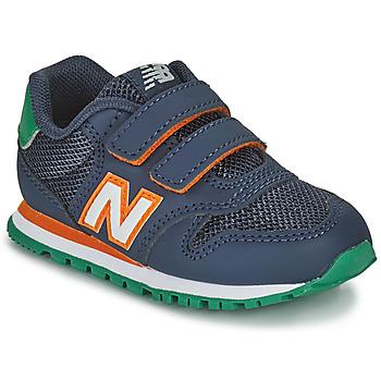 Zapatos Niño Zapatillas bajas New Balance 500 Azul / Naranja